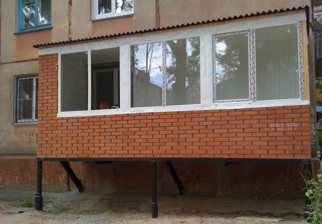 Балкон строим.